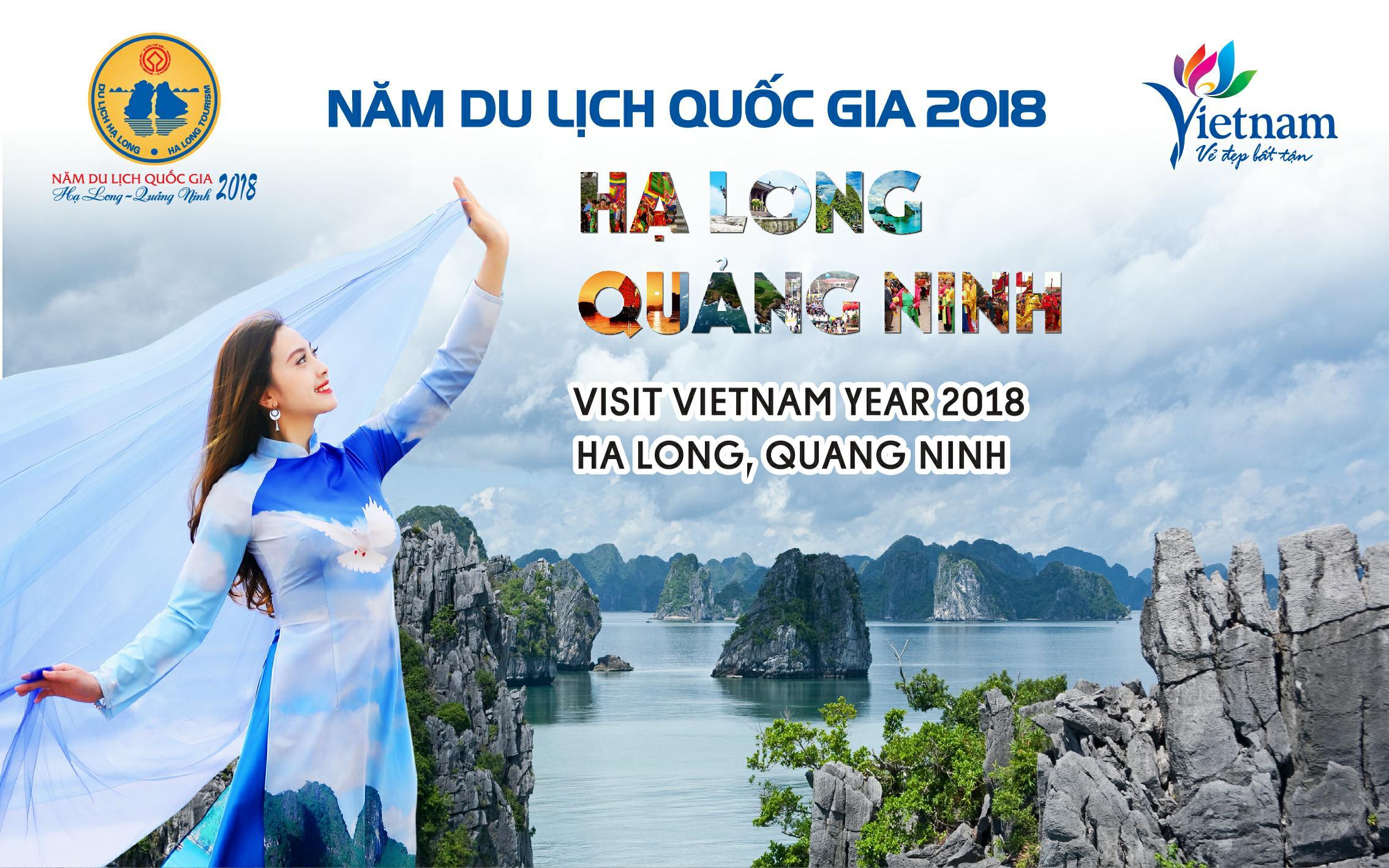 Năm du lịch quốc gia 2018 Hạ Long - Quảng Ninh